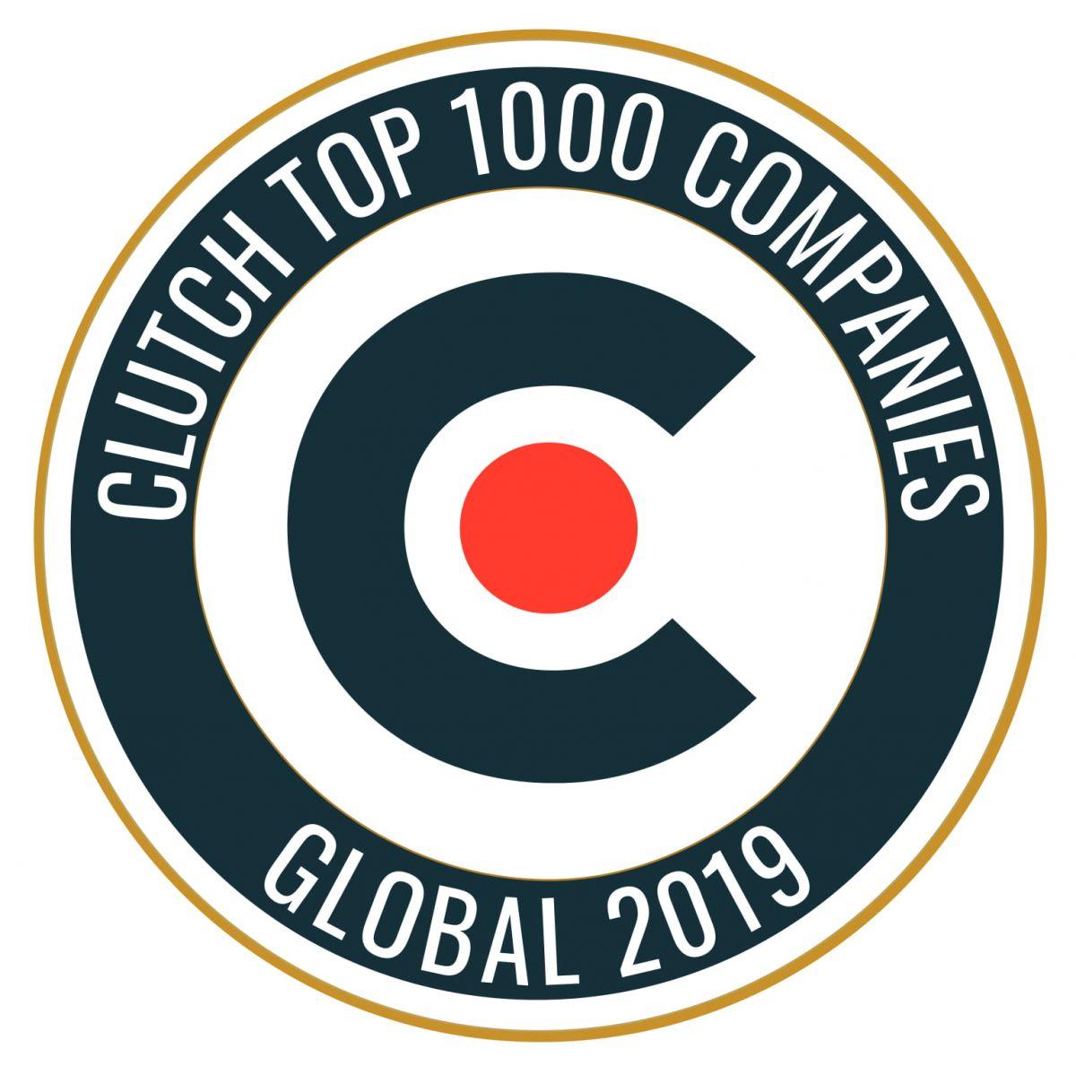 clutch top 100 companies logo